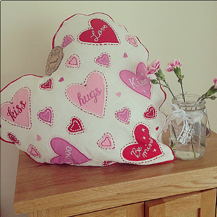 Over 50% off Gorgeous Large Love Heart Cushion